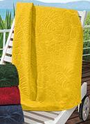 Toalha de Rosto  Amarela