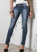 Cal�a Feminina Azul Jeans