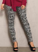 Cal�a Skinny Animal Print  Zebra