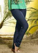 Cal�a Skinny em Cotton Jeans  Azul