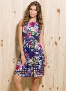 Vestido Evas� Estampa Floral