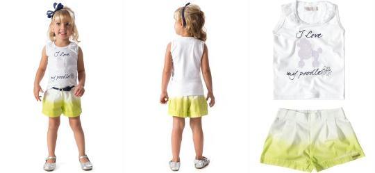 Conjunto Infantil Branco Carinhoso