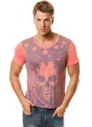 Camiseta Masculina  Estampa Caveira