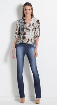 Camisa Mullet e Calça Jeans