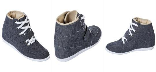 Sneaker Jeans Feminino