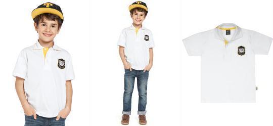 Camisa Polo Tigor T. Tigre Branca