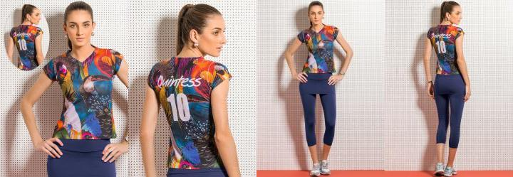 Blusa Quintess 10 Tropical