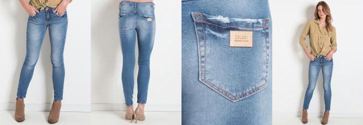 Cal�a Jeans Skinny Colcci