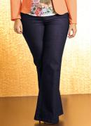 CAL�A FLARE PLUS SIZE (JEANS)