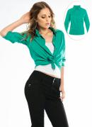 Camisa Cl�ssica Verde