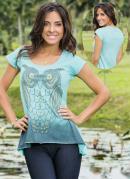 T-Shirt Coruja  Azul