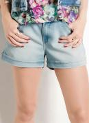 Short Jeans Claro Ana Hickmann