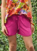 Short Feminino Modelo Esportivo Pink