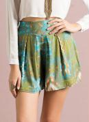 Short Saia  Estampa �tnico
