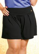 SHORT SAIA PLUS SIZE (PRETO)