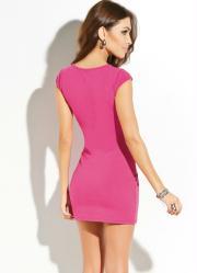 Vestido Pink Modelo Tubinho