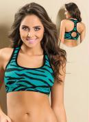 Top Suti� Nadador  Estampa Zebra