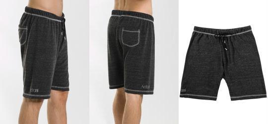 Shorts Masculino Cinza