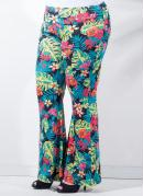 Cal�a Flare Floral Plus Size