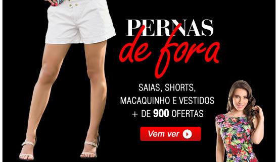 Pernas de Fora | Saias, shorts, macaquinha e vestidos + de 900 ofertas - Vem ver