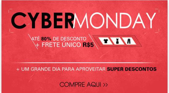 Cyber Monday até 80% de desconto + frete único R$ 5 | + Um grande dia para aproveitar super descontos - Compre aqui